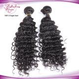 Trame de cheveux brésilienne humaine de haute qualité 100% Deep Wave