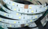SMD5050 LED Strip Non Waterproof 60LEDs/M RGB Color 24VDC met 3m Tape