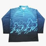 La Chine Healong prix bon marché de bonne qualité d'impression numérique à manches longues Tee-shirts polo