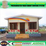 Chambre de plage se pliante modulaire préfabriquée de conteneur de vert solaire préfabriqué ignifuge