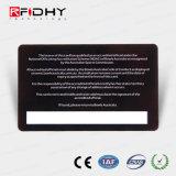 Cartão do controle de acesso da impressão RFID de Cmyk com painel de assinatura