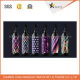 印刷を付着力の深いカラーワインの飲料のびんのステッカーと分類しなさい