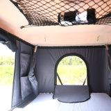 SUV coque rigide en fibre de verre tente sur le toit de voiture pour le camping