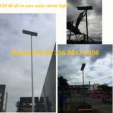 供給の政府のプロジェクトの太陽LEDライトのための屋外の道の照明保証5年の