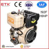 16HP 4 치기 8.5kw 공기에 의하여 냉각되는 디젤 엔진
