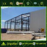 Projeto Prefab do armazém do aço estrutural de baixo custo