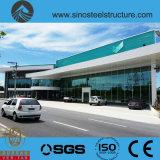 세륨 ISO BV SGS에 의하여 전 설계되는 강철 건축 창고 (TRD-071)
