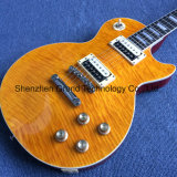A Chama Maple Top Lp 1959 R9 guitarra eléctrica com Ebony Fretboard (BPL-214)