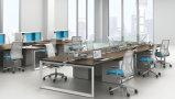 Stazioni di lavoro modulari dell'ufficio di alluminio smontabile moderno di buona qualità (SZ-WS919)