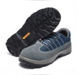 Semelle PU L'isolement Steel Toe en cuir véritable de la sécurité des chaussures de travail