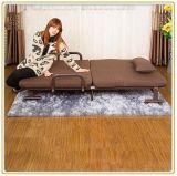 コーヒーカラーマットレス190*100cmが付いているSpacespaceのセービングの折るベッドかソファーベッド