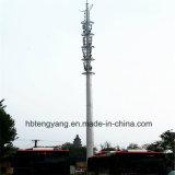 Простая установка на заводе стали Monopole электросвязи в корпусе Tower