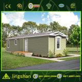 低価格の鉄骨フレームのプレハブの家デザイン