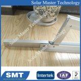 Cremagliera solare del montaggio del triangolo di alluminio del tetto di Concret