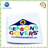 Mais novo Customized Satin Size Woven Label for Clothing (JP-CL028)