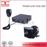 Reeks van de Sirene van het Systeem van het Alarm van de Politiewagen van de vrachtwagen 200W de Elektronische (PA300)