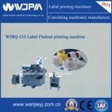 Máquina de impressão de alta velocidade Flat-Bed da etiqueta (WJBQ4210)
