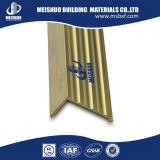 Escalier en laiton d'anti glissade flairant pour la protection de bord d'escalier/bande en laiton