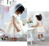 Petite robe de mariage de princesse Lace