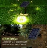120 LED impermeabilizan luces de hadas estrelladas accionadas solares del alambre de cobre de la cadena