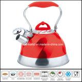 Cookware de la caldera del silbido del color de la alta calidad