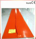 calentador flexible del caucho de silicón de 300*1910*1.5m m para plateado de metal