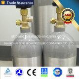 DOT3al de StandaardCilinder van Co2 van het Aluminium van de Hoge druk met Klep Cga320