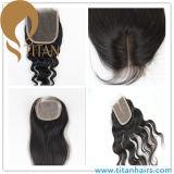 Großhandel Günstige Menschenhaar Frauen Stücke Haarverschluss