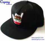 Custom Suede ala tapa Snapback Hat fabricante