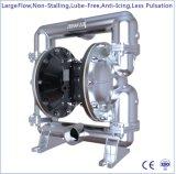 """3 """" Un grand débit en acier inoxydable Double pompe à diaphragme à commande pneumatique"""