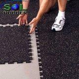 Stuoia di gomma di collegamento 20mm di puzzle del pavimento di ginnastica
