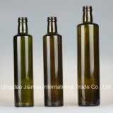 круглая Food-Grade стеклянная бутылка 250-1000ml для хранения масла