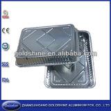 Cuisson jetables tarte d'oeufs d'aluminium
