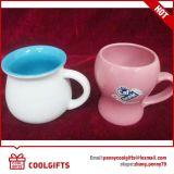 De verglaasde Kop van de Koffie van de Vorm van de Buik van de Trommel Ceramische voor Gift
