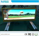 Segno esterno dell'automobile di funzione LED della video visualizzazione P2.5/segno superiore del tassì