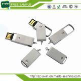 Libre Logo personalizada giratorio USB Flash Drive de metal Pen Drive
