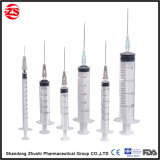 Needle를 가진 5ml Safety 각자 Destructive Syringe