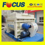 1.5m3 mélangeur concret puissant Js1500 pour la centrale de traitement en lots concrète