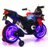 Bateria de três rodas de plástico brinquedos eléctricos Kid Motociclo