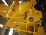 Transporte concreto Gd10fd del carro de la mezcla de hormigón del mezclador de cemento