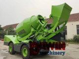 Auto do motor Diesel de preço do competidor que carrega o caminhão móvel do misturador concreto para a venda