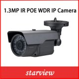 1.3MP câmara de segurança impermeável da bala do CCTV do IP WDR IR (WA9)