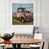 زاهية قديم شاحنة [أيل بينتينغ] أمريكا مزرعة فنّ لأنّ زخرفة بينيّة