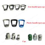 10L de Cilinder van het Staal van de zuurstof met Klep en GLB/Handvat
