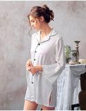 """2017 pijamas de seda """"sexy"""" Sy10303663 das mulheres novas dos Bathrobes do Nightwear do projeto"""