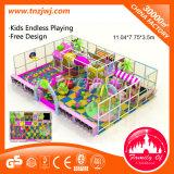 Mini juegos infantiles interiores de PVC suave