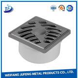 En acier inoxydable ou laiton/drain de plancher d'estampage en aluminium avec un service personnalisé