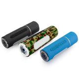 4 la Banca di potere dell'altoparlante 6000mAh della bicicletta di Bluetooth della torcia elettrica di In1 LED