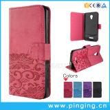 Estojo com flip em couro PU Alcatel Onetouch 4 Feroz Ot5051