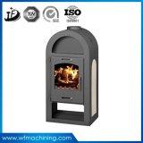 包装の鉄のガス暖炉のストーブを焼き付けるOEMの暖炉のストーブの挿入